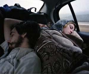 couple, sleep, and travel image
