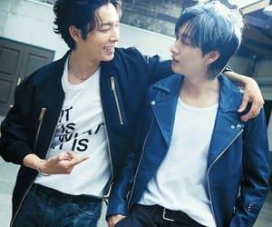 eunhyuk, Lee Donghae, and super junior image