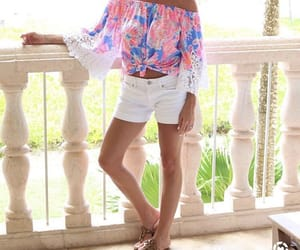 blouse, shorts, and southern image
