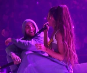 ariana grande, couple, and mac miller image