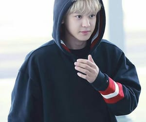 airport, blond, and handsome image