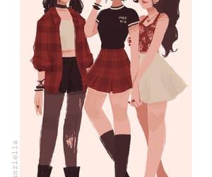 girl, avatar, and azula image