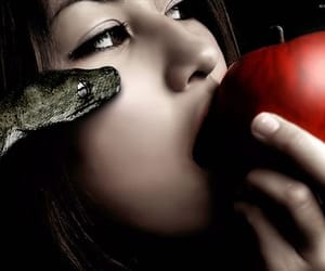 apple, forbidden, and mythical image