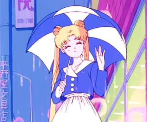 aesthetic, vintage, and anime image