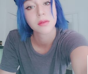 aqua, bob haircut, and latina image