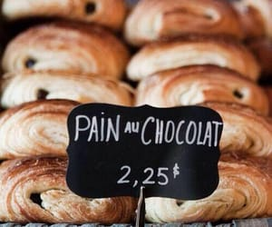 chocolate, food, and pain au chocolat image