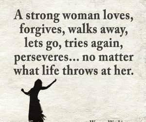 woman, life, and love image