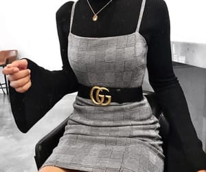 fashion, gucci, and dress image