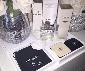 chanel, luxe, and fragrance image