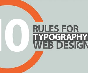 cgfrog and typography rules image
