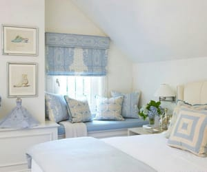 bedroom and periwinkle image