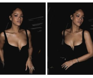 rihanna and black image