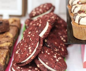 bakery, chocolate, and cookie image