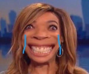wendy williams and reaction picture image