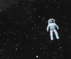 astronaut, cosmos, and gravity image