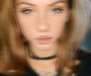 blue eyes, instagram, and madison beer image