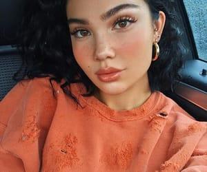 site models, orange aesthetic, and insta baddies baddie image