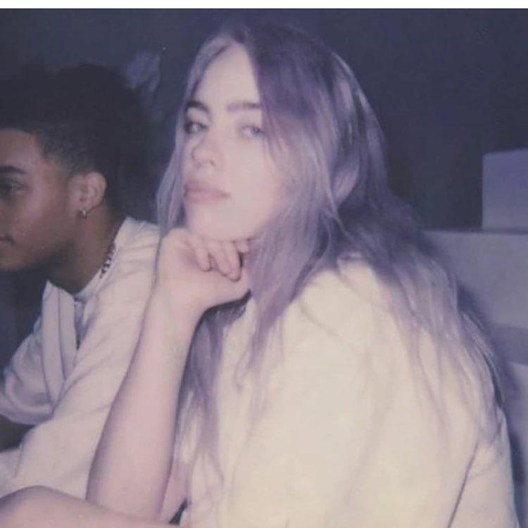 billie, girl, and eilish image