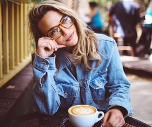 coffe, girl, and charlotte mckee image