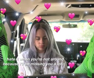 meme, billie, and heart image