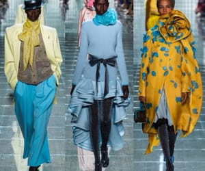 blue, ss19, and fashion image