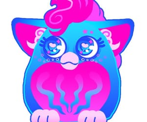 colerful, png, and furby image