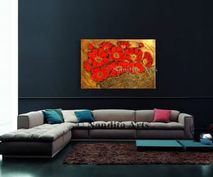 Abstract Painting, home decor, and painting on canvas image