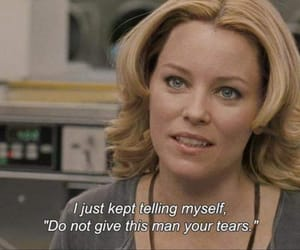 quotes, movie, and tears image