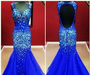pageant dress, prom dress, and mermaid dress image