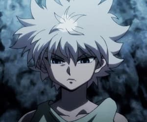 anime, killua, and gif image