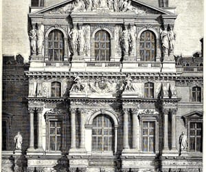 architecture, museedulouvre, and design image