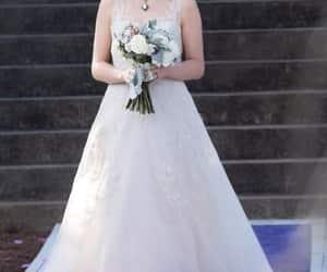 bride, caroline, and tvd image