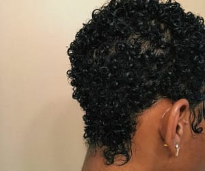 curls, hair, and natural image