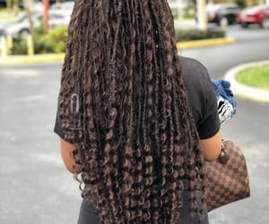 beautiful, locs, and dreads image