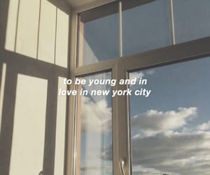 aesthetic, blue, and Lyrics image