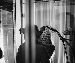 couple, love, and shower image