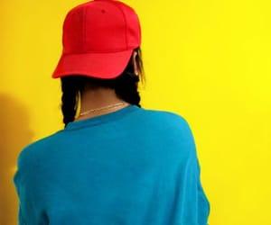 braids, fashion, and yellow image