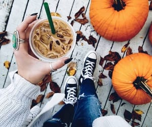 autumn, pumpkin, and style image