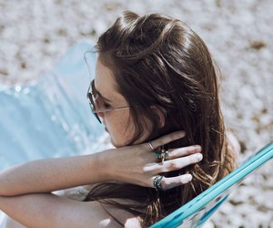 accessories, beach, and blogger image