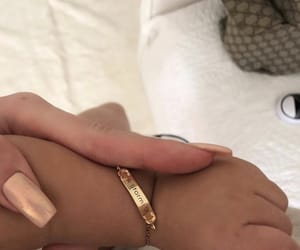 jewelry, nails, and kylie jenner image