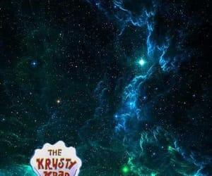sponge bob, galaxi, and krustykrab image