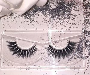 glitter and lashes image