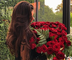 birthday, roses, and redroses image