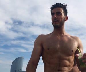 Barcelona, gym, and handsome image