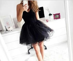 short prom dresses, prom dresses for cheap, and pretty homecoming dress image