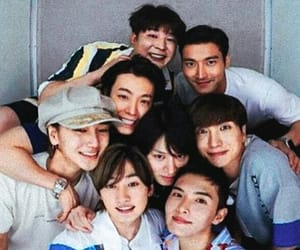 donghae, Leeteuk, and SJ image