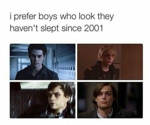 teen wolf, evan peters, and dylan o'brien image