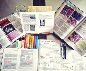 books, learing, and study hard image