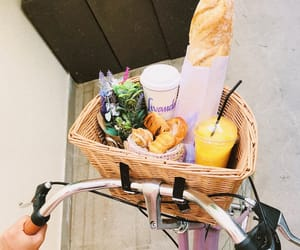 bread, juice, and lifestyle image
