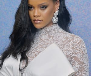 rihanna, white, and alexis mabille couture image